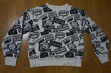 Very Rare! A Bathing Ape A variety of patterns Crew Sweatshirt  From Japan!