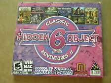 Classic 6 Pack Adventures 2 Interactive Hidden Objects / Puzzle Game PC-DVD-ROM