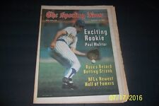 1978 Sporting News MILWAUKEE Brewers PAUL MOLITOR First Cover EXCITING ROOKIE