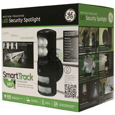 GE LED Motion Tracking Control Security Light Flashing Monitor Outdoor