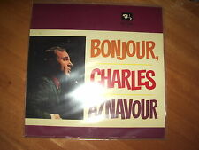 CHARLES AZNAVOUR - BONJOUR, CHARLES AZNAVOUR ! VG+ 1stPRESS MLP 15203 GERMANY