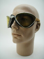 VINTAGE ITALIAN GOGGLES Motorcycle Car Pilot Racing Racer WW2 Period Desert