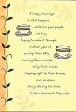 Happy Anniversary For Husband Coffee Cups Togetherness Hallmark Greeting Card
