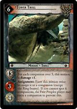 LOTR Lord of the Rings TCG Tower Troll 15R117 NM/MINT