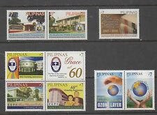 Philippine Stamps 2010 Various Commemoratives,9 different Complete sets, MNH