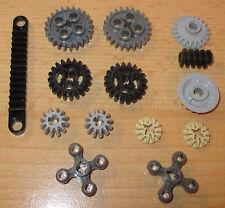 Lego Technik - Zahnräder Zahn Rad Knob Schiene Schnecke Set Neu