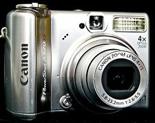 Canon PowerShot A570 IS 7.1 MP Digital Camera - Silver (4622124860)