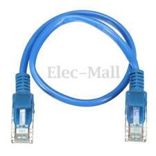 7.9inch Short CAT 5 RJ45 Ethernet Internet Network Patch Lan Cable Cord Blue