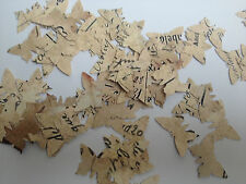Vintage French Style Butterfly shaped wedding table confetti 100 supplied