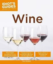 Idiot's Guides: Wine, Slinkard, Stacy, New Book