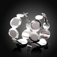 Sparkle Brush Trim Earring .925 Sterling Silver Plated SHOP ONLINE