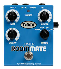 T REX Room-Mate Junior - 4 Mode Reverb Guitar FX Pedal / Stomp Box - BRAND NEW