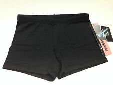 Body Wrappers BWP282 Women's Size XS Black ProWEAR Boy-Cut Shorts