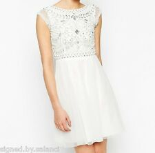 Frock and Frill Embellished Top Skater Dress 14