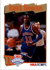 Terrell Brandon 1991-92 Hoops #556 - Rookie Card - Oregon Ducks / Cleveland Cavs