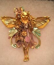 Kirks Folly Primrose Fairy Pin Brooch Pendant Vintage Retired (New Photos Added)