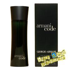 Armani Code for Men by Giorgio Armani 2.5 oz EDT New In Box 75ml New Spray