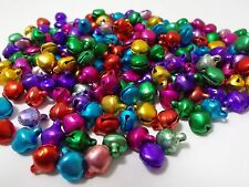 300pcs 8mm JEWEL Christmas JINGLE BELL Charm Beads / Bells CRAFT FINDINGS