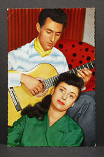 Caterina Valente & Francesco - Movie Photo - Film Foto Autogramm-AK (Lot-H-3808