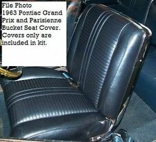 1963 Pontiac Grand Prix & Parisienne Sport Bucket Seat Covers