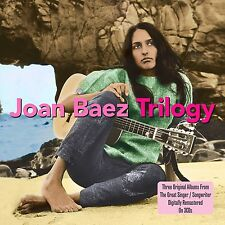 3 CD BOX JOAN BAEZ TRILOGY VOL.1 - VOL.2 - FOLF SINGERS ROUND HARVARD SQUARE