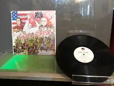 Steel Pulse Earth Crisis LP Record Good Condition