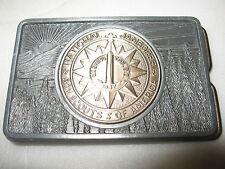 vintage 1937 national boy scouts jamboree belt buckle BSA america washington DC