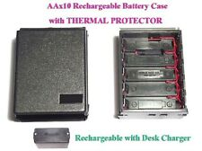 AA10 Rechargeable Battery Case + THERMAL Icom IC2AT 02AT 04AT 2GAT 32AT A2 M5 12