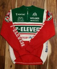 7-eleven cycling (7-11 cycling) - Team ISSUED Wool Sweater to Andy Hampsten