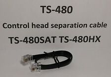 Kenwood TS-480 TS-480SAT TS-480HX Remote Head separation cable 11 inches