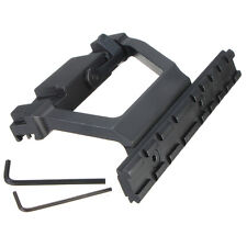 20mm Side Rail QD Scope Mount For SVD Dragunov Saiga Kalashnikov Caza