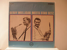 GERRY MULLIGAN & STAN GETZ - VERVE RECORDS V6-8535 -  - STEREO