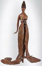 "Erte    (Romain De Tirtoff)      ""Feather Gown""     Bronze     MAKE OFFER"