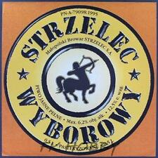 Poland Brewery Jędrzejów Strzelec Beer Label Bieretikett Centaur Horse je75.2