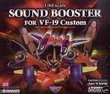 New Yamato MACROSS VF-19 Kai Fire Valkyrie Sound Booster PAINTED