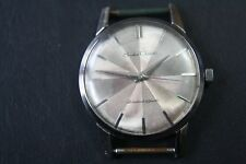 VINTAGE SEIKO CROWN 21 JEWELS BEAUTIFUL SILVER DIAL 1960'S WRISTWATCH