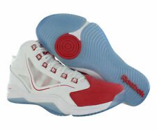 Reebok Q96 Crossexamine Men Size 10.5 M Basketball White/Stadium Red/Ice V54947