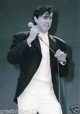 BRYAN FERRY PHOTO LIVE AID 1985 HUGE 12 INCH UNIQUE IMAGE UNRELEASED EXCLUSIVE