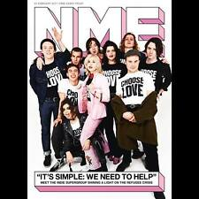 The NEW MUSICAL EXPRESS NME 24 FEBRUARY 2017 nme Bands 4 Refugees Cover n.m.e.