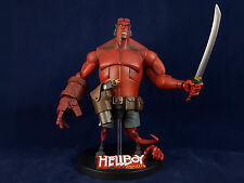 "Gentle Giant Animated HellBoy 6.5"" Action Figure w/ Stand, Sword, & Pistol 2007"