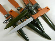 "SUPER DEAL! CHINESE ARMY RUBBER PARADE OR TRAINING KNIFE BROKEN SOLD ""AS IS"""