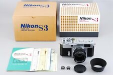 UNUSED Nikon S3 2000 Limited Edition with Nikkor-S 50mm f/1.4 from japan #851