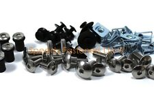 Honda St1100 Pan European 1991-2002 Completa Inoxidable Carenado de pantallas y perno kit
