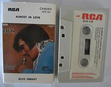ELVIS PRESLEY ALMOST IN LOVE AUSTRALIAN RELEASE CASSETTE TAPE