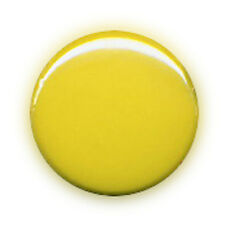 Badge COLOR BLOCK AMARILLO yellow fashion kawaii pop rock punk retro pins Ø25mm