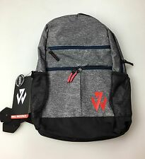 Adidas John Wall Backpack *Grey/Navy/Scarlet* New With Tags!  Retail $60.00