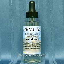 Mega-Steam Scented WOOD STOVE Smoke For Williams Steam Engine Diesel G O HO N S