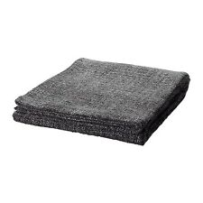 "New Ikea Gurli Throw Blanket, gray/black, 71x47"" Couch Bedspread"