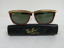 Vintage B&L Ray Ban Olympian II Street Neat Red Ebony Sunglasses USA