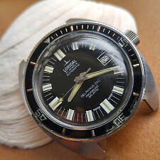Vintage Loridal Delphinus 200 Diver Watch w/Screwdown Crown,All SS Case,ETA 2452